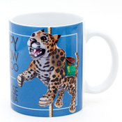 Happy Hollow Park & Zoo - Jaguar Carousel Mug
